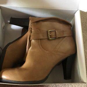 Womens Style&co Amorietan Wheat boot